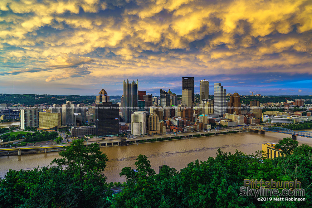 Mt. Washington View of Pittsburgh July 2019