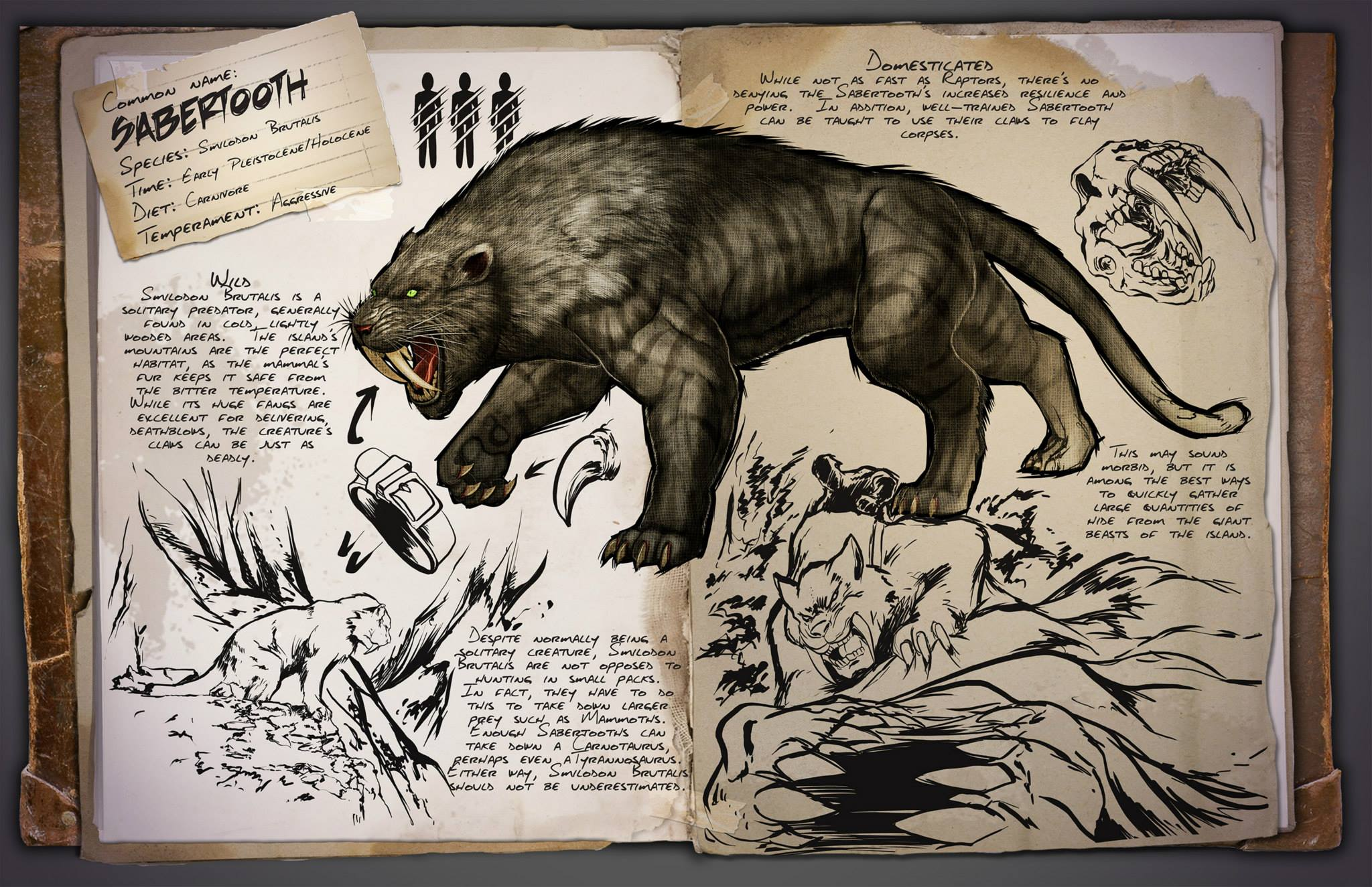 ARK Survival Evolved Le FPS Dvoile Son Bestiaire