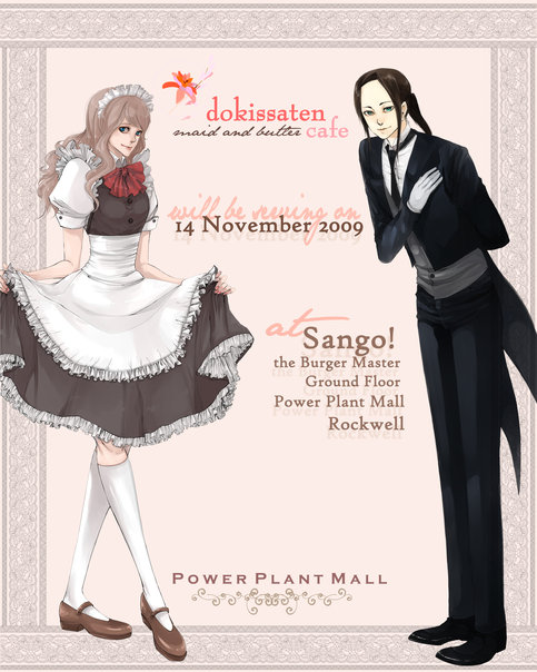 Event Dokissaten Maid And Butler Cafe Dresden Doll