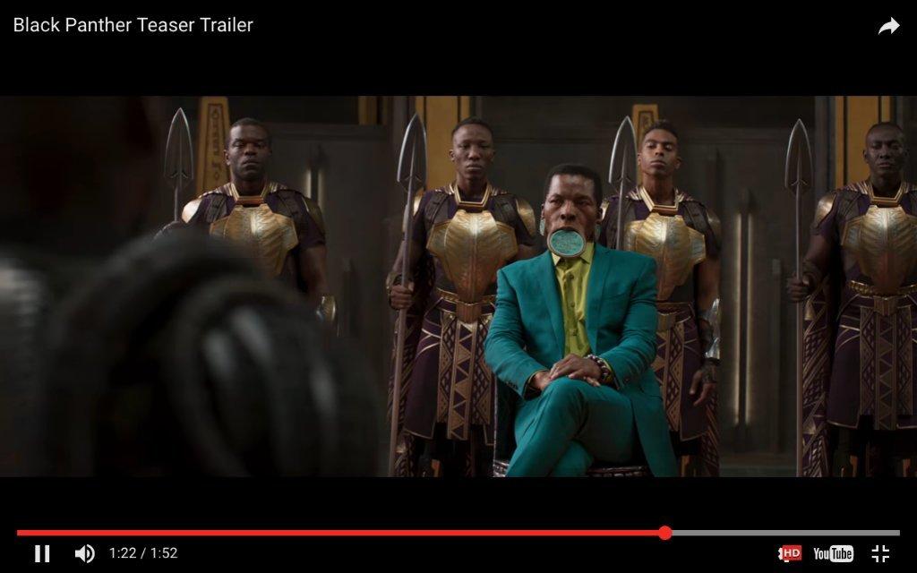 qnii 說 Black Panther Teaser Trailer [HD] 【黑豹】官方中文前導預告 2018年 2月13日 見證傳說 #漫威電影 #黑豹 這位英雄 ...