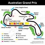 Australian Grand Prix Positions