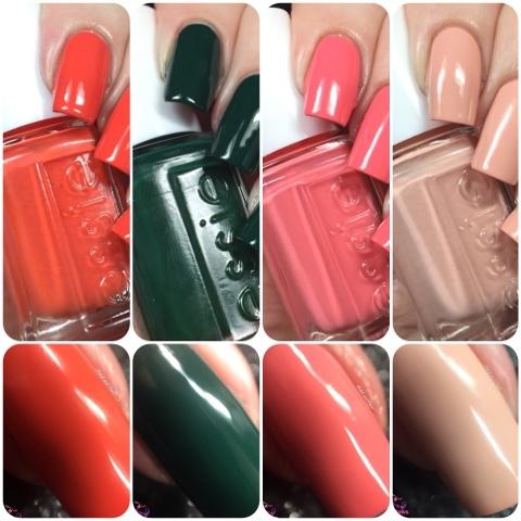 Essie Retro Revival Spring 2016 Nail Collection