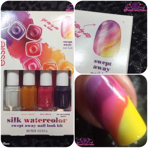 Nail Art Essie Silk Watercolor Mini Kit