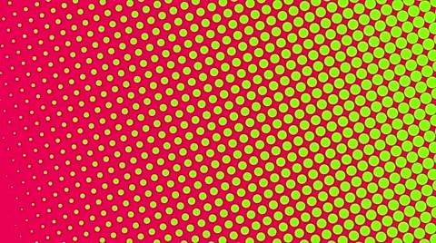 Stock Video Pop Art Haltone Retro Background 41764099