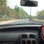 View From Inside A Car Driving On India Stock Video Pond5