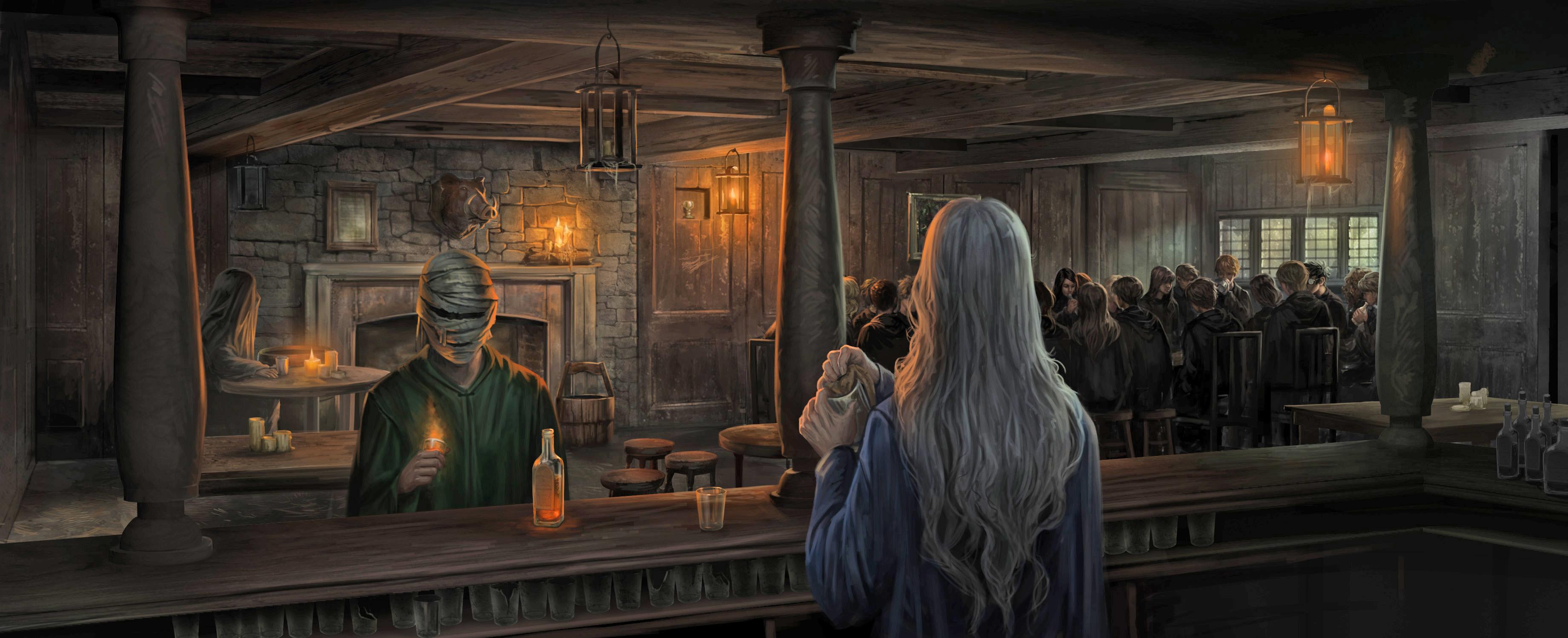 阿不福思·鄧布利多:誰說我已繳械投降?   Hogwarts Modern History