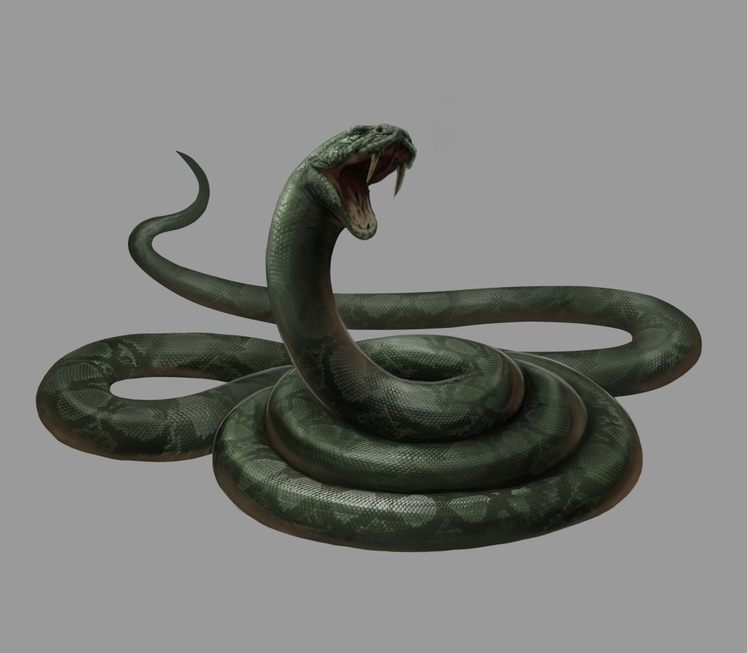 Illustration of Voldemort's snake Nagini