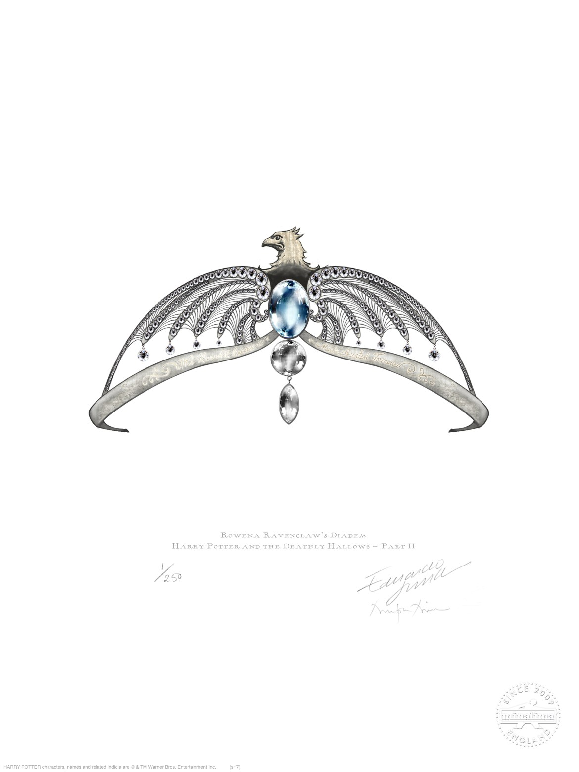 Rowena Ravenclaw's Diadem, featured in Harry Potter and the Deathly Hallows Part 2