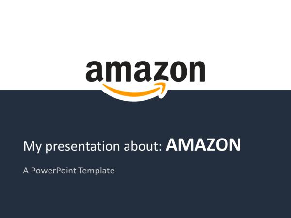 Amazon PowerPoint Template - PresentationGO.com