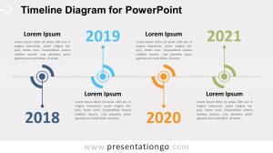 Timeline Diagram for PowerPoint  PresentationGO