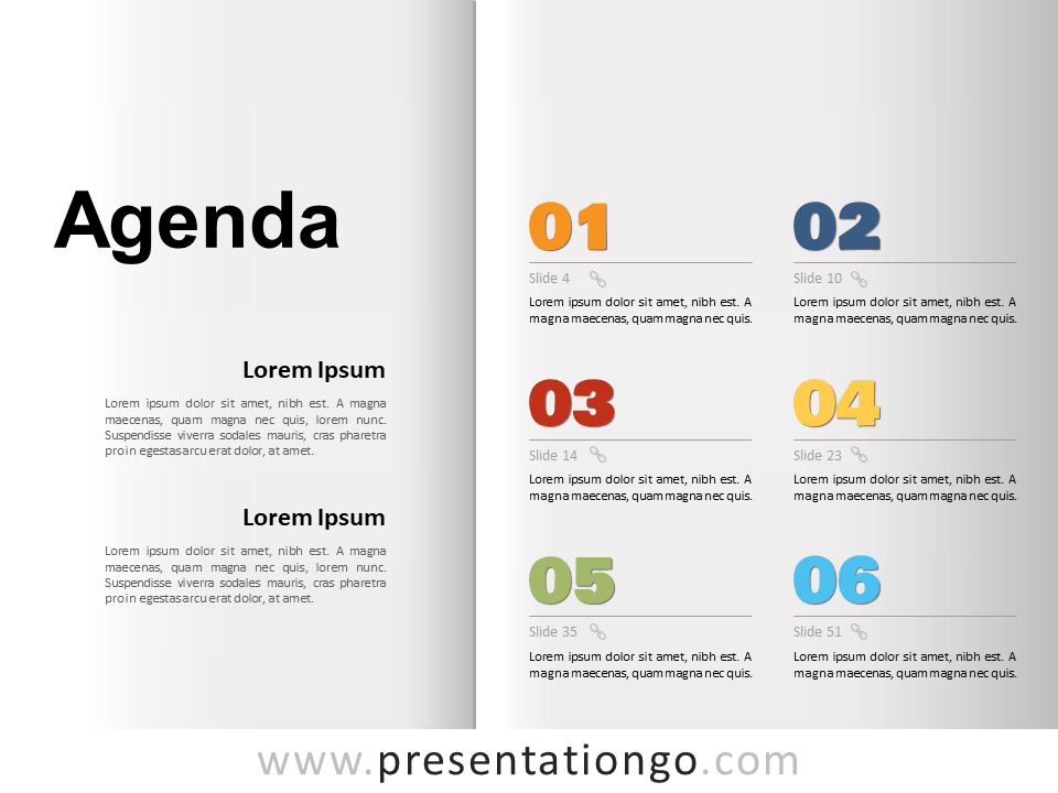 Meetings will run more smoothly, efficiently, and productively with a meticulously crafted meeting agenda. Agenda Template For Powerpoint And Google Slides Presentationgo