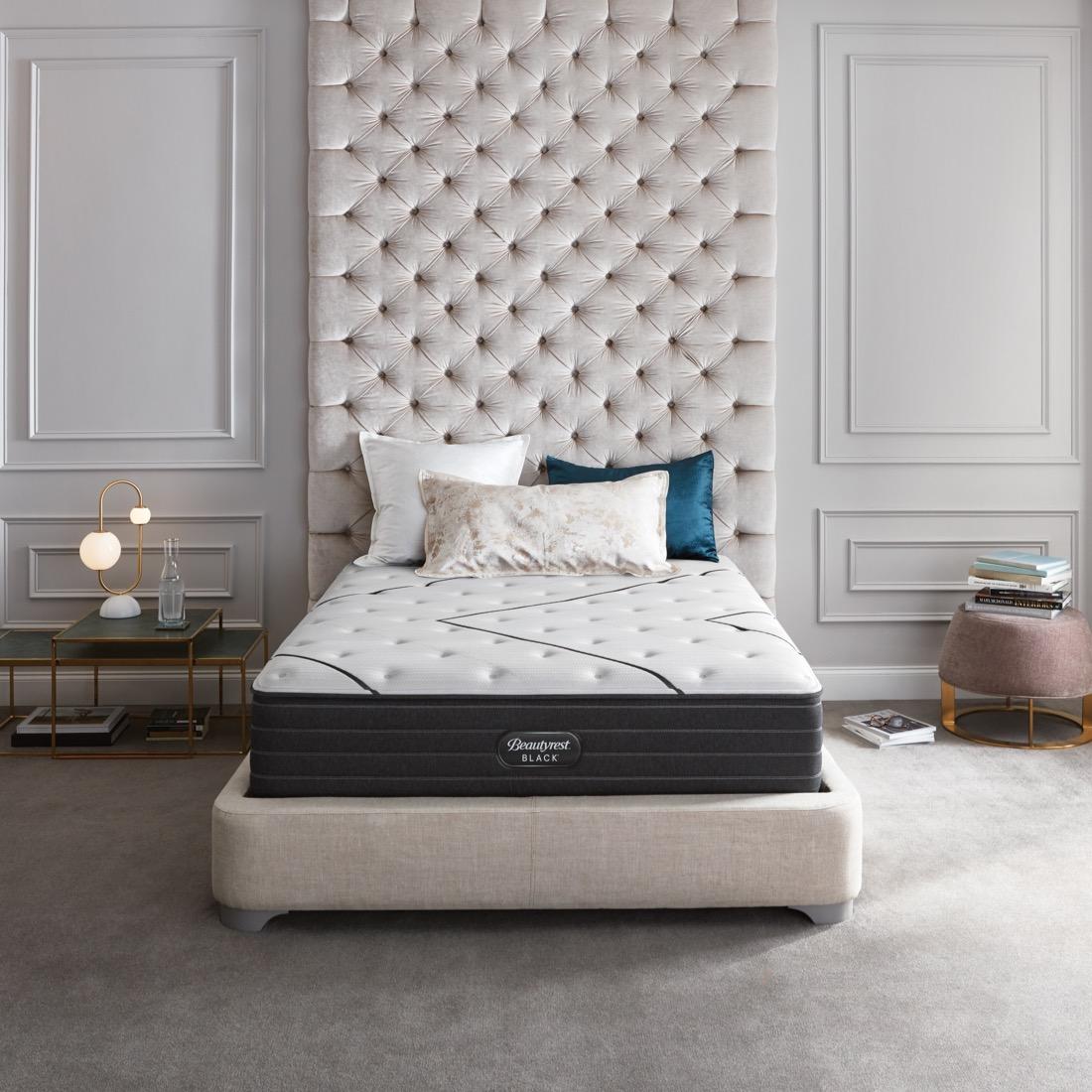 medium firm luxury cooling mattress beautyrest black
