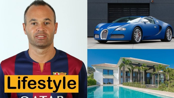Andres Iniesta is the 7th richest football player in the world