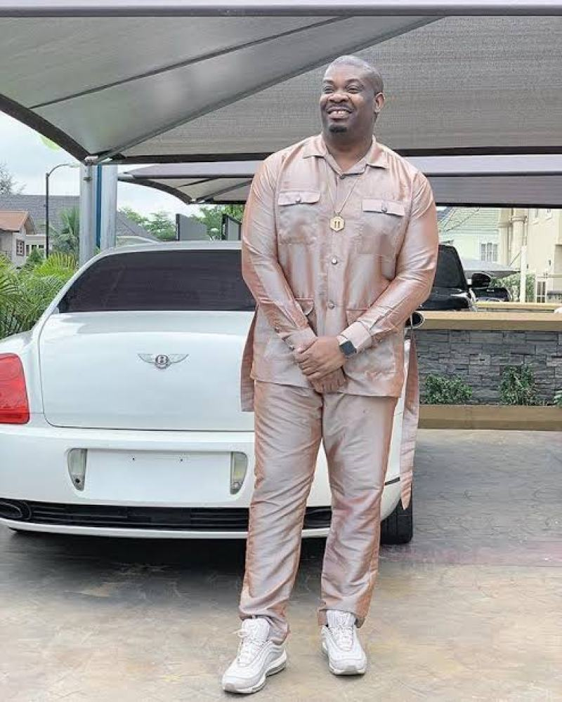 Don Jazzy is one of the African musicians that like flashy cars