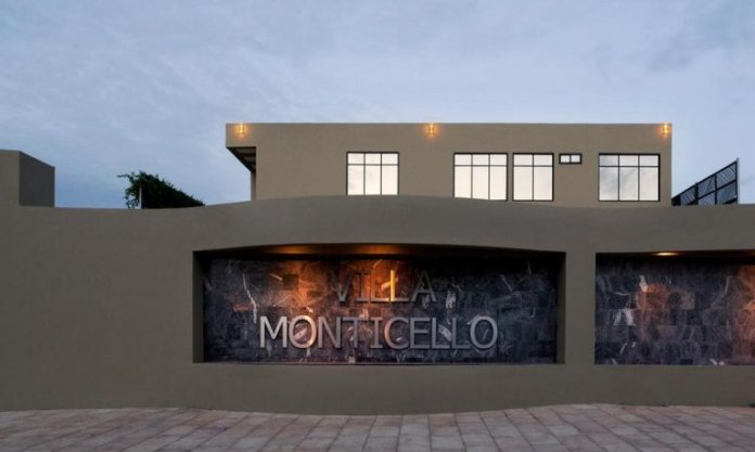 Villa Monticello Boutique hotel, the 7th best hotel in Ghana