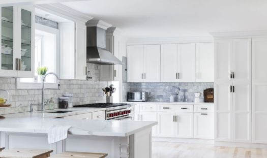 best kitchens with white cabinets