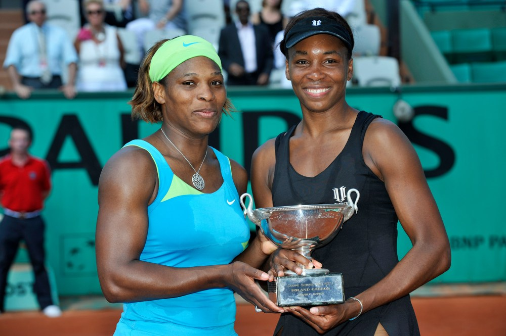 Serena and Venus pair up - Roland-Garros - The 2021 Roland-Garros  Tournament official site
