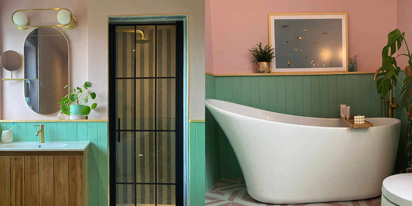 paint your bathroom with lick paints lick