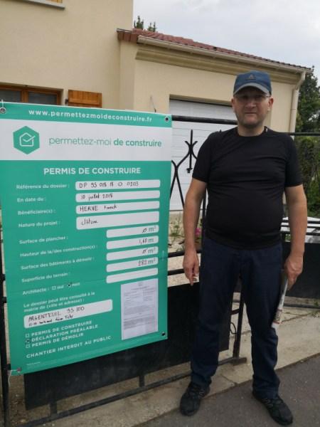 Declaration De Travaux Obtenue Pour Cloture A Argenteuil