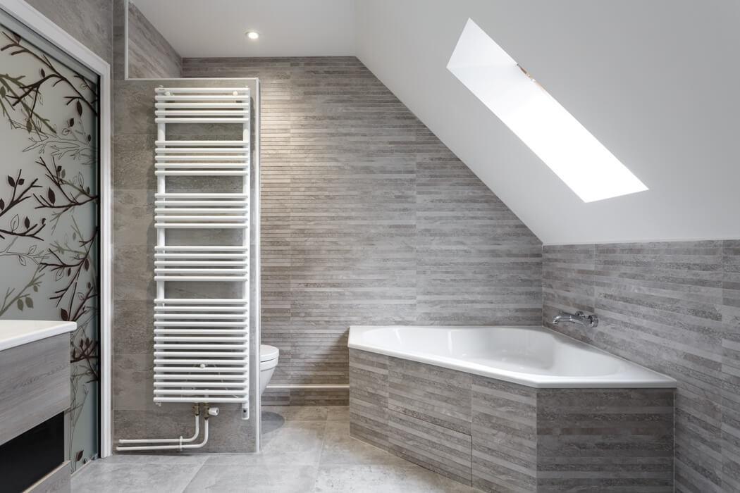 deux salles de bain ambiance marine