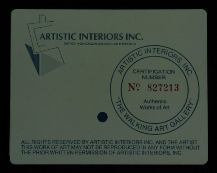 Artistic Interiors Inc Oil Paintings Value | Decoratingspecial.com