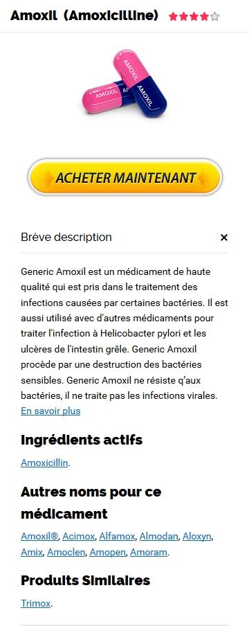 Medicament Amoxil Prix