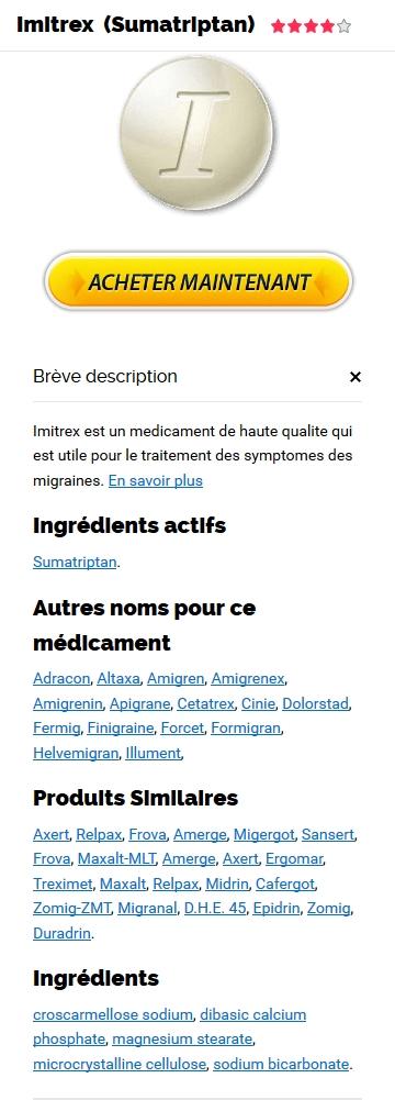 Vente Imitrex France