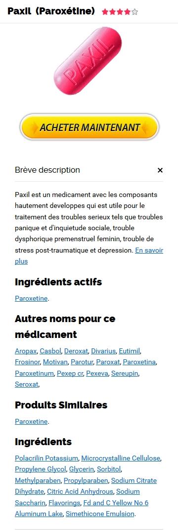 Paroxetine Sur Le Net