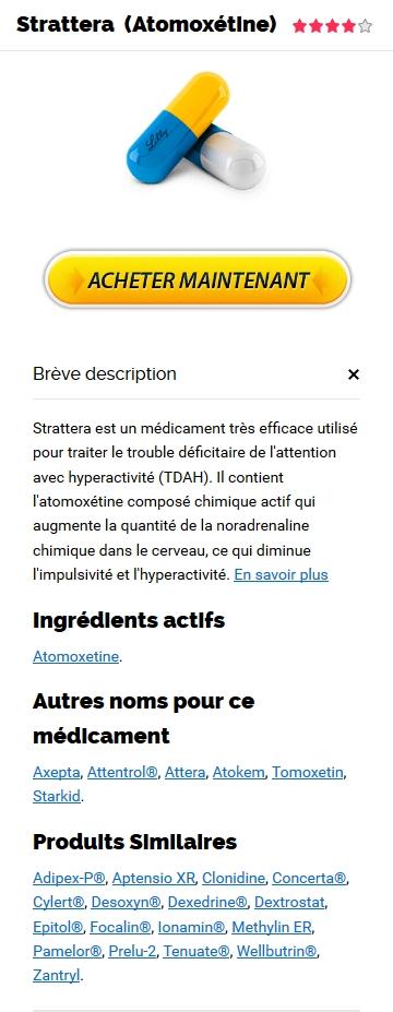 Acheter Atomoxetine Levitra