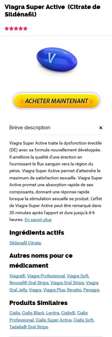 Achat Viagra Super Active Europe