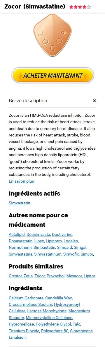 Acheter Zocor 10 mg En Ligne Pas Cher