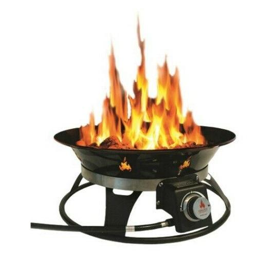 Outland Living Cypress Steel Propane Fire Pit on Outland Living Cypress Fire Pit id=75811