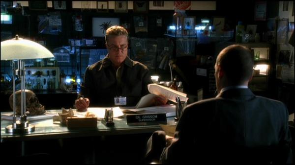 Gil Grissoms (William Petersen) Police ID (2002) | Prop ...