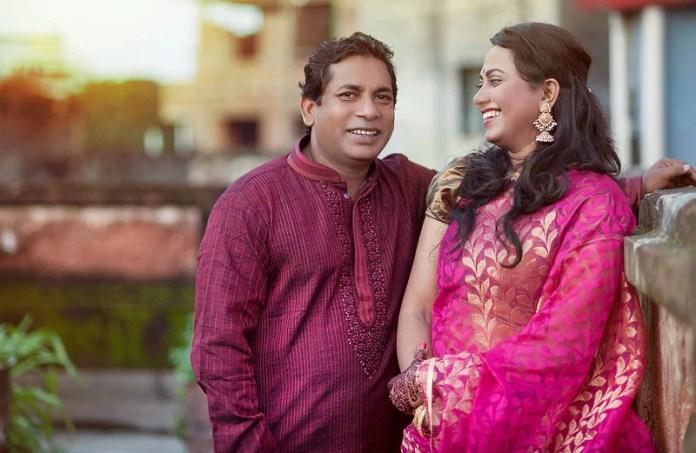 মোশাররফ করিম ও রোবেনা রেজা। ছবি : সংগৃহীত