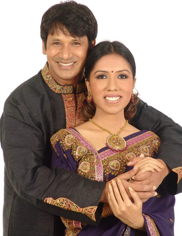 Actor Litu Anam and actress-director Hridi Haque