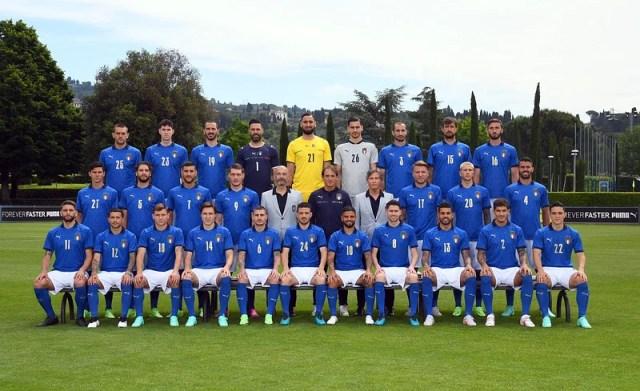 Italy squad.