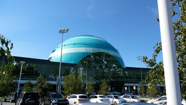 At Nur Sultan Nazarbayev International Airport