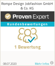 Erfahrungen & Bewertungen zu Rompe Design Jobfashion GmbH & Co. KG