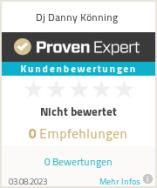 Erfahrungen & Bewertungen zu Dj Danny Könning