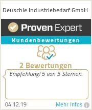 Erfahrungen & Bewertungen zu Deuschle Industriebedarf GmbH
