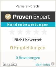 Erfahrungen & Bewertungen zu Pamela Porsch