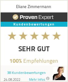 Erfahrungen & Bewertungen zu Eliane Zimmermann