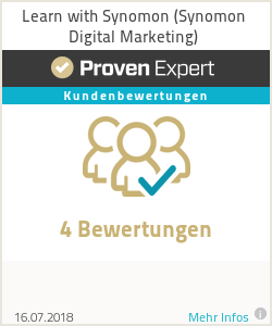 Erfahrungen & Bewertungen zu Learn with Synomon (Synomon Digital Marketing)