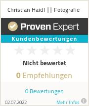 Erfahrungen & Bewertungen zu Christian Haidl || Fotografie