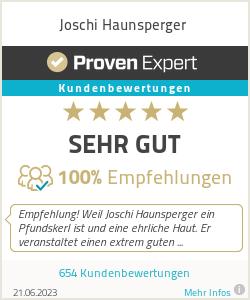 Erfahrungen & Bewertungen zu Joschi Haunsperger Onlinemarketing