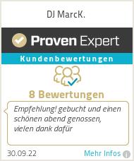 Erfahrungen & Bewertungen zu DJ MarcK.