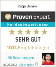 Erfahrungen & Bewertungen zu Katja Benny