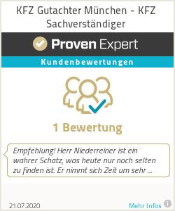 Erfahrungen & Bewertungen zu KFZ Gutachter München - KFZ Sachverständiger