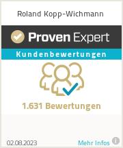 Erfahrungen & Bewertungen zu Roland Kopp-Wichmann