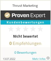 Erfahrungen & Bewertungen zu Thrust Marketing